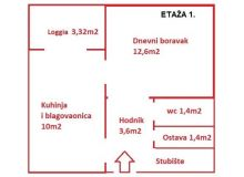 Flat in building, Sale, Zagreb, Stenjevec